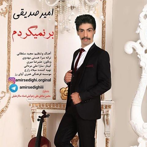 دانلود ترانه جدید امیر صدیقی بر نمیگردم