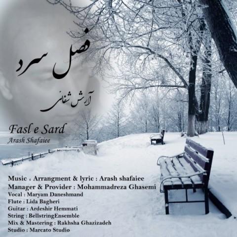دانلود ترانه جدید آرش شفائی فصل سرد