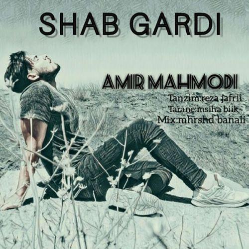 دانلود ترانه جدید امیر محمودی شب گردی