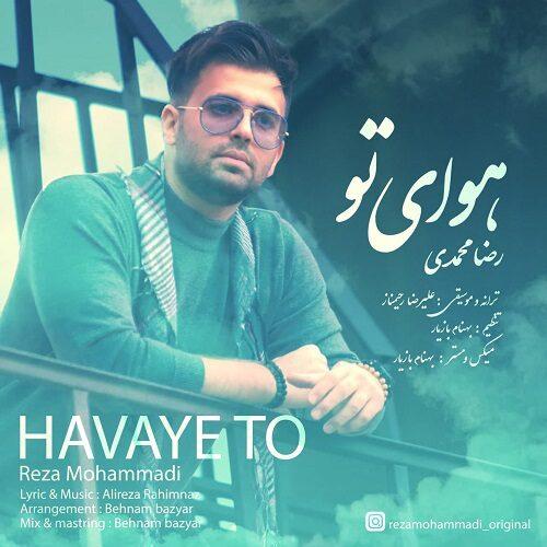 دانلود ترانه جدید رضا محمدی هوای تو
