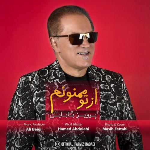 دانلود ترانه جدید پرویز بابایی از تو ممنونم